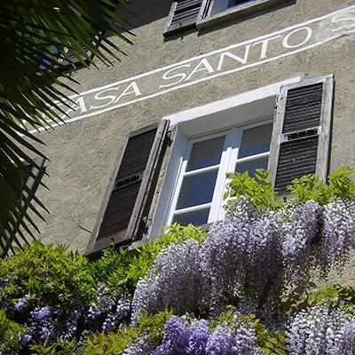 Die Casa Santo Stefano von außen