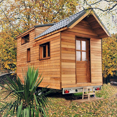 Tiny House bei La Belle Verte
