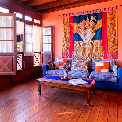 Gemütliche Innenansicht Casa el Morro
