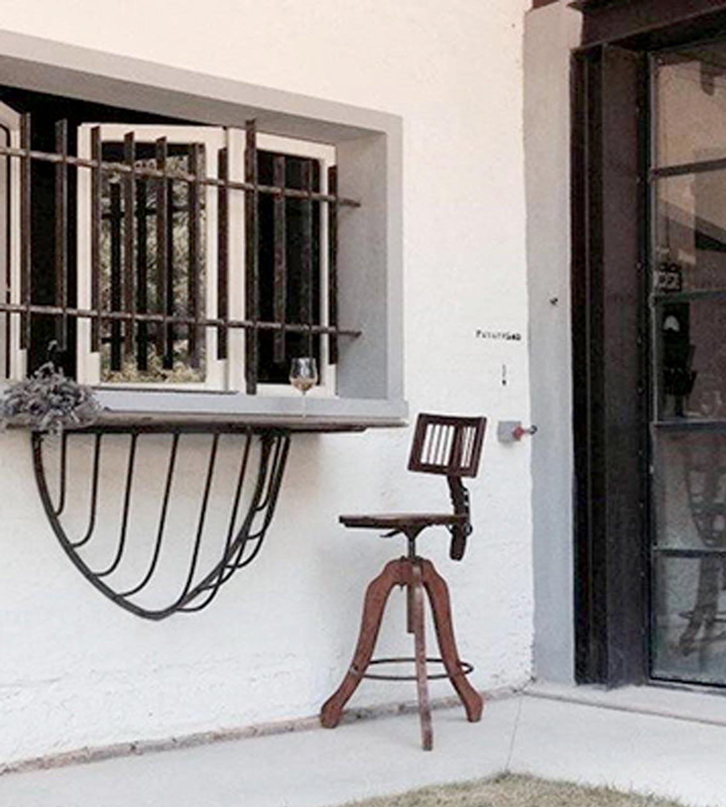 Fenster des Tenuta Montemaggiore