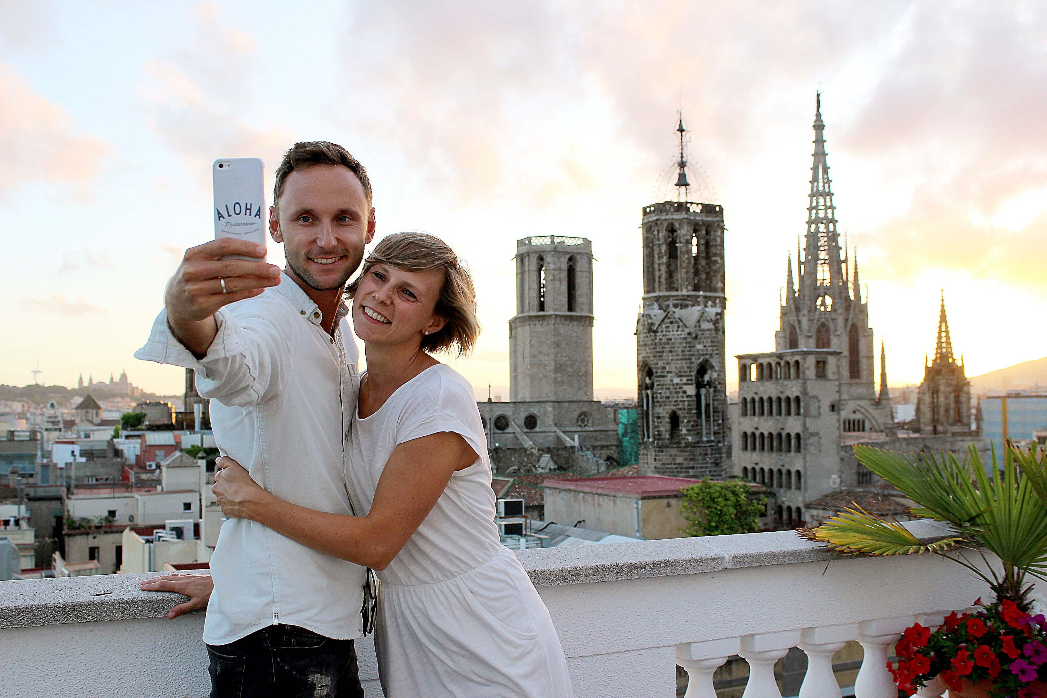 Michael und Magdalena von Barcelona by locals