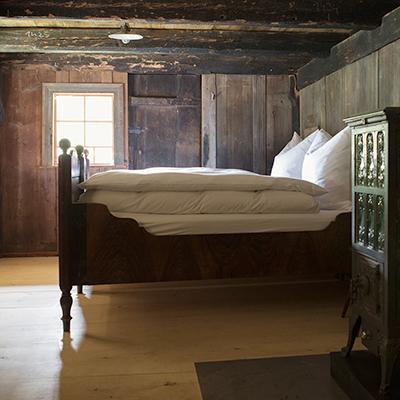 Schlafzimmer im Langenbachhof