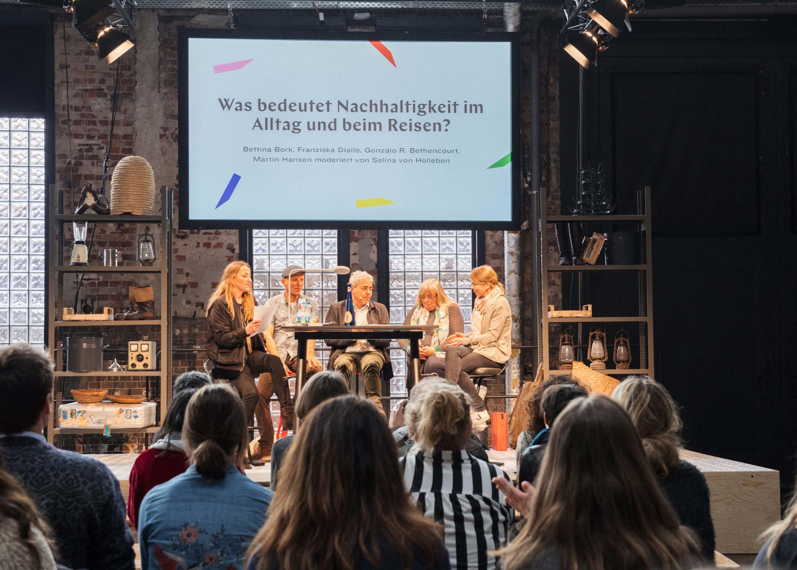 Vortrag Berlin Travel Festival 2018