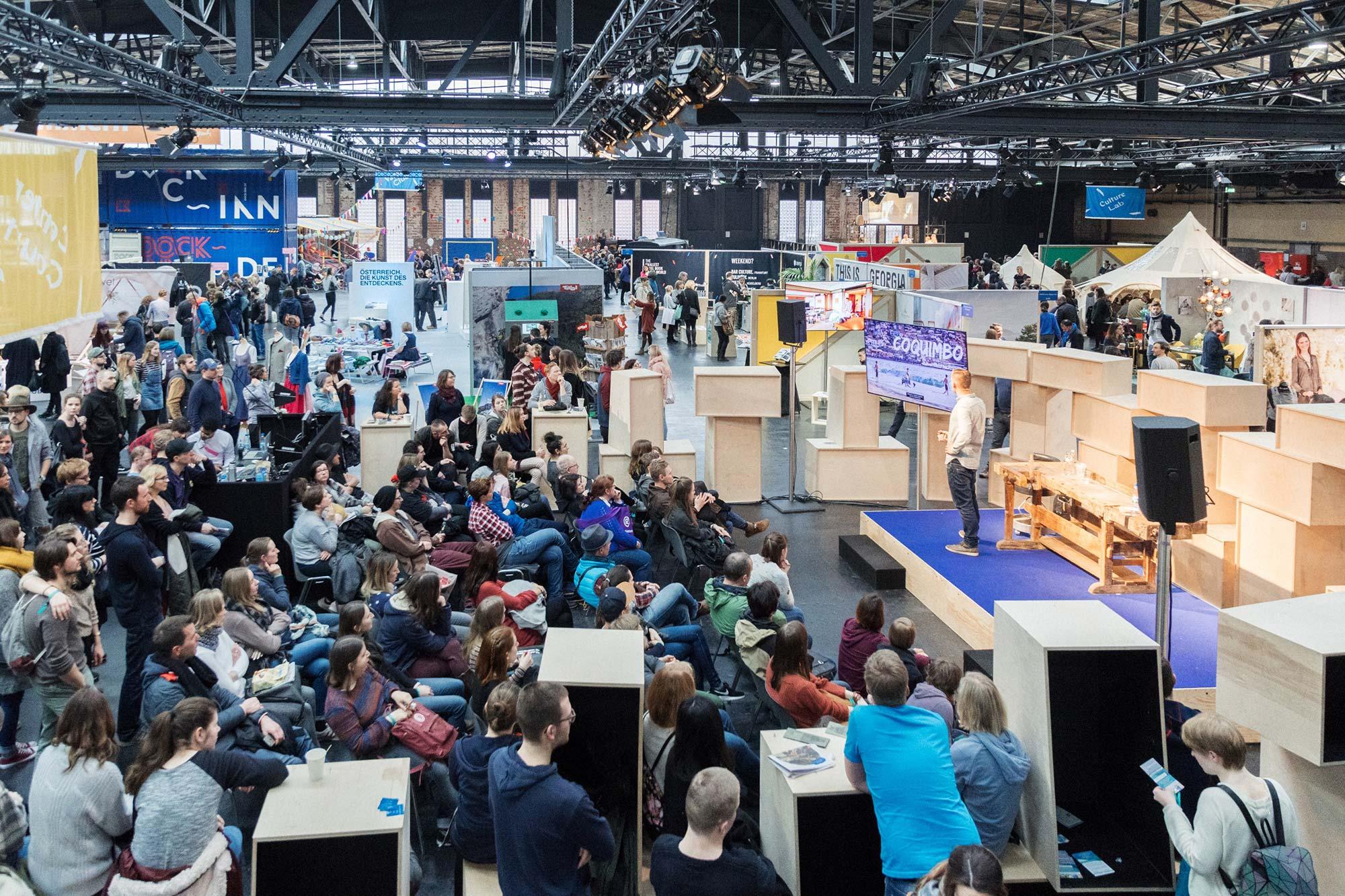 Vortrag auf dem Berlin Travel Festival 2019