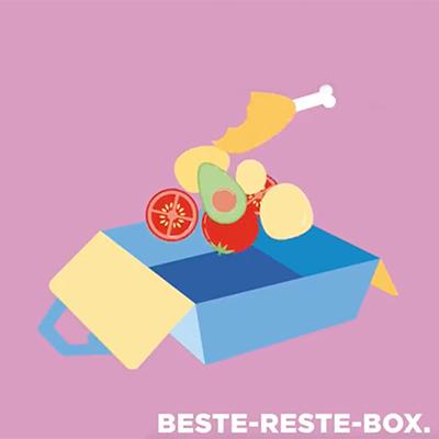 Beste-Reste-Box der Aktion Restlos genießen