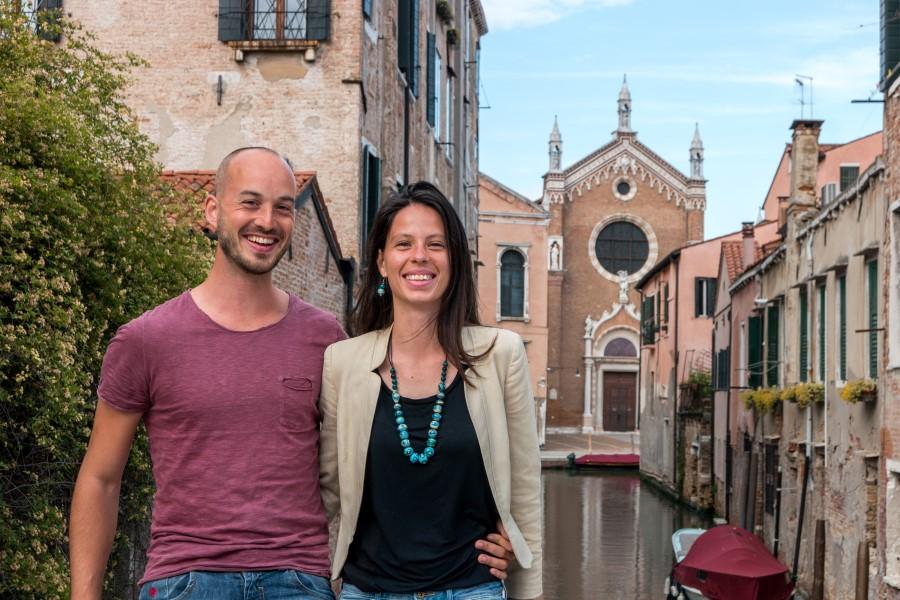 Valeria und Sebastian von Venezia Autentica