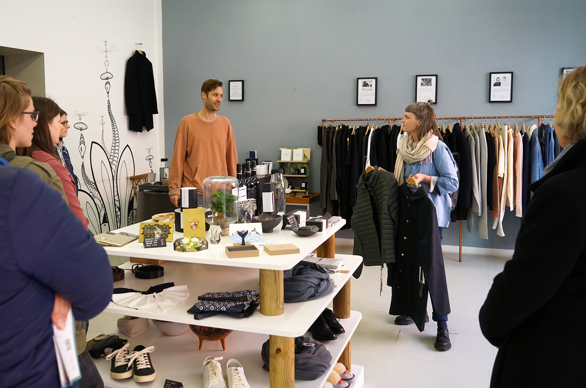 Marc von homage Berlin stellt uns sein Ladenkonzept vor