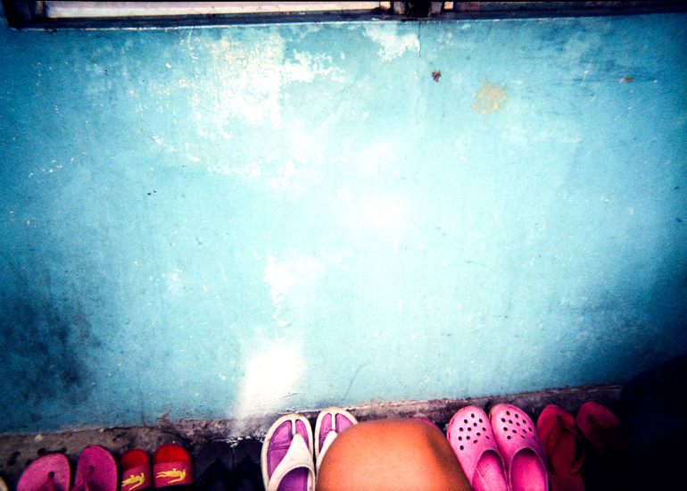Blue Pink von Rhojan