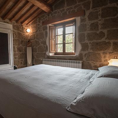 Blick in eines der Zimmer des Sant'Egle