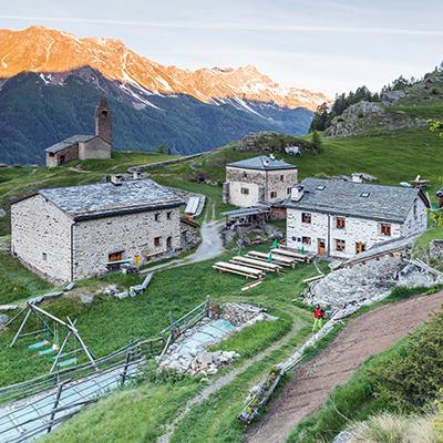 Das San Romerio in der Schweiz