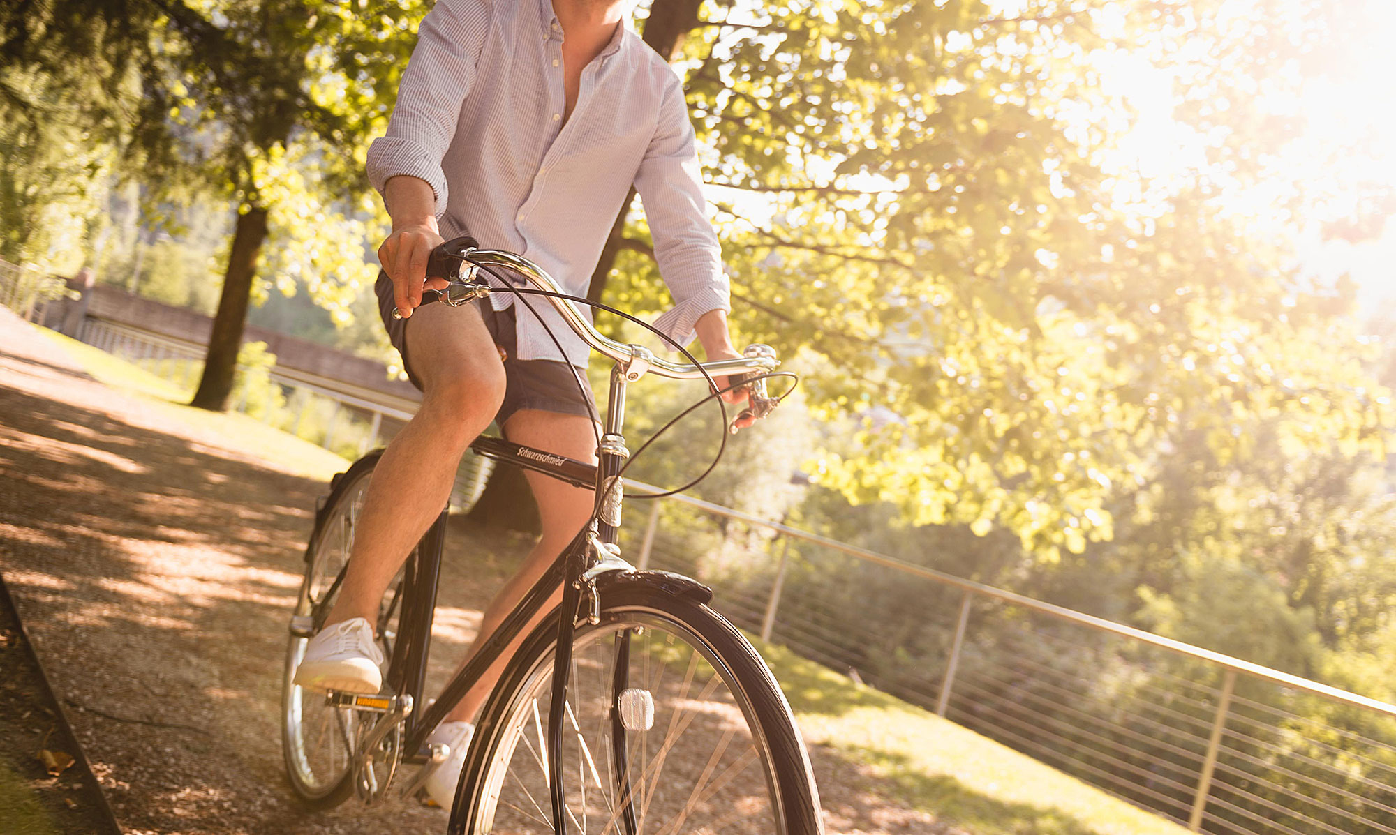 Ein idealer Ausgangspunkt für Fahrrad- und Wandertouren