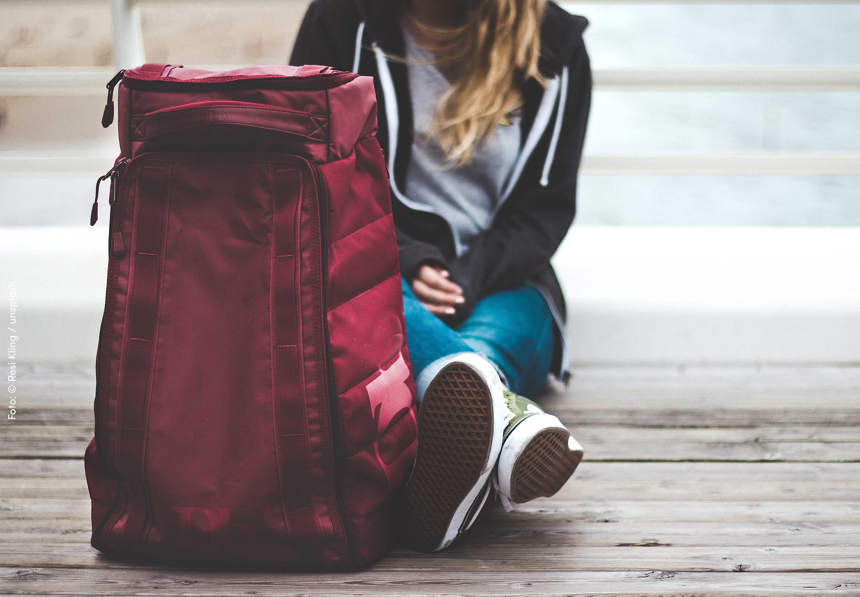 mit Handgepäck reisen