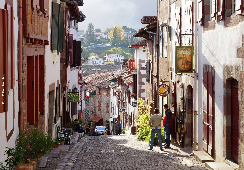 Saint Jean Pied de Port, Frankreich