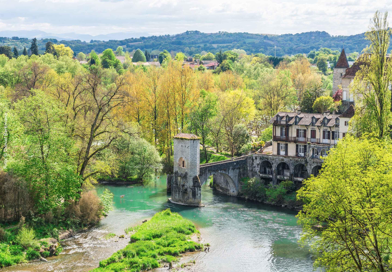Sauveterre in Südwestfrankreich