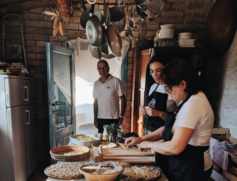 die Köchinnen im Domu Antiga