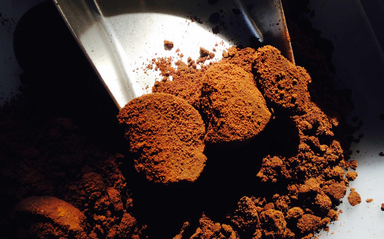 Rohstoff Kaffeesatz
