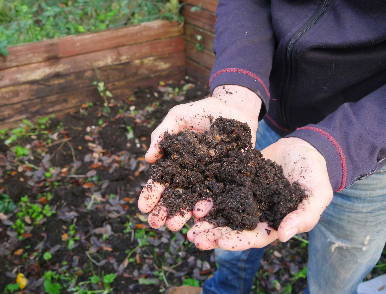 Fertiger Kompostmix