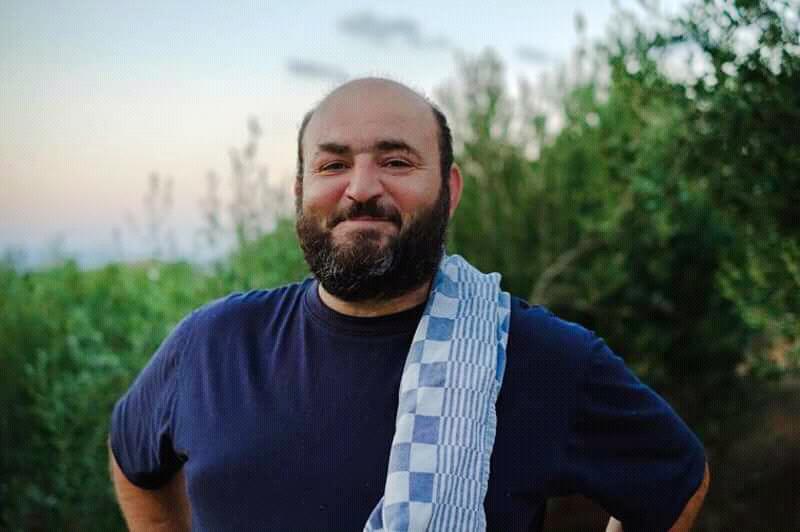 Saverio, der Besitzer der Atelierwohnungen