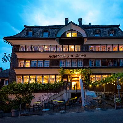 Das Rössli Mogelsberg in der Schweiz