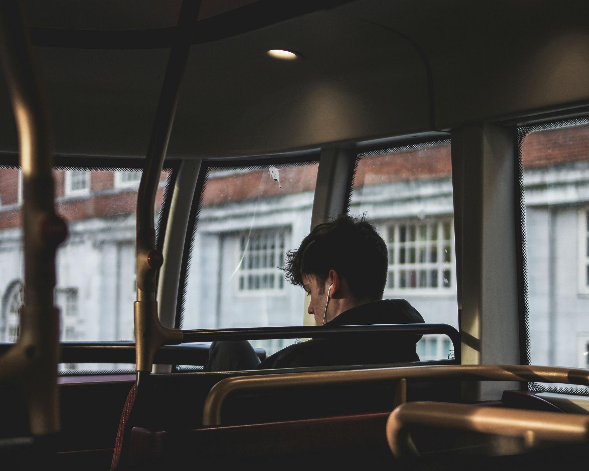 Podcasts während langer Reisezeiten