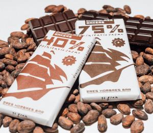 Die Bio-Schokolade ist in ausgewählten Läden erhältlich