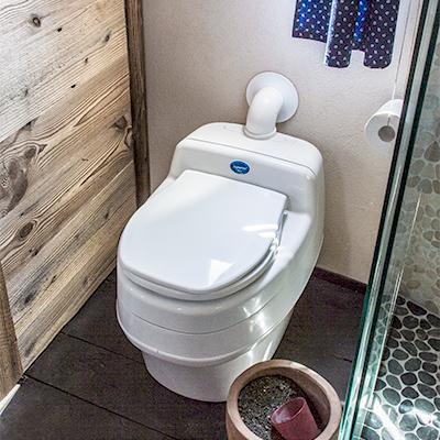 Die Bio-Toilette mit Trockentrennsystem
