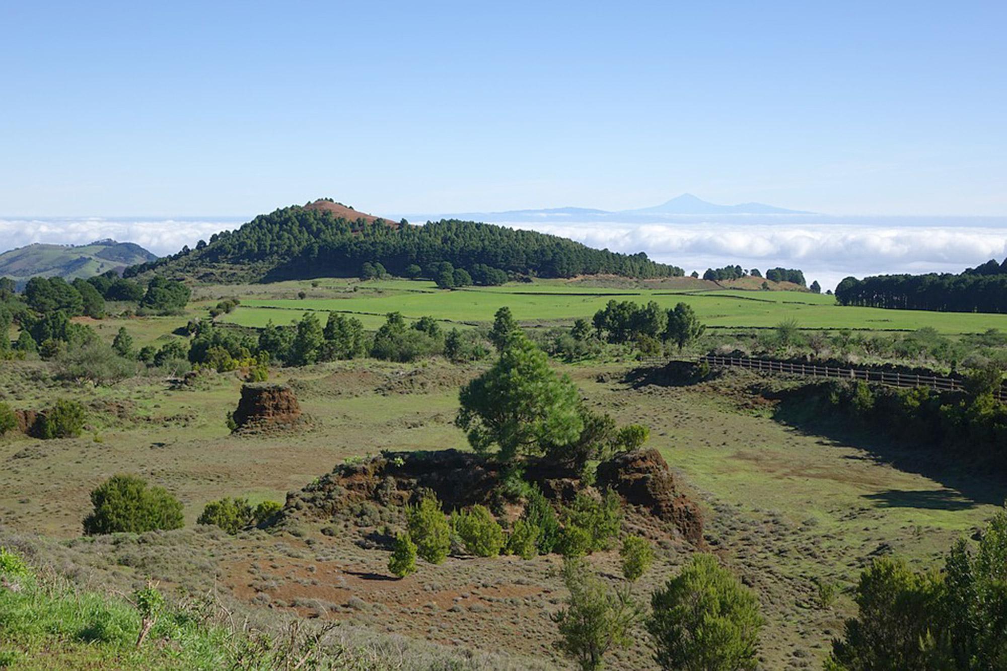 Die kleinste Insel der Kanaren ist El Hierro, die ganz im Westen der Inselgruppe liegt