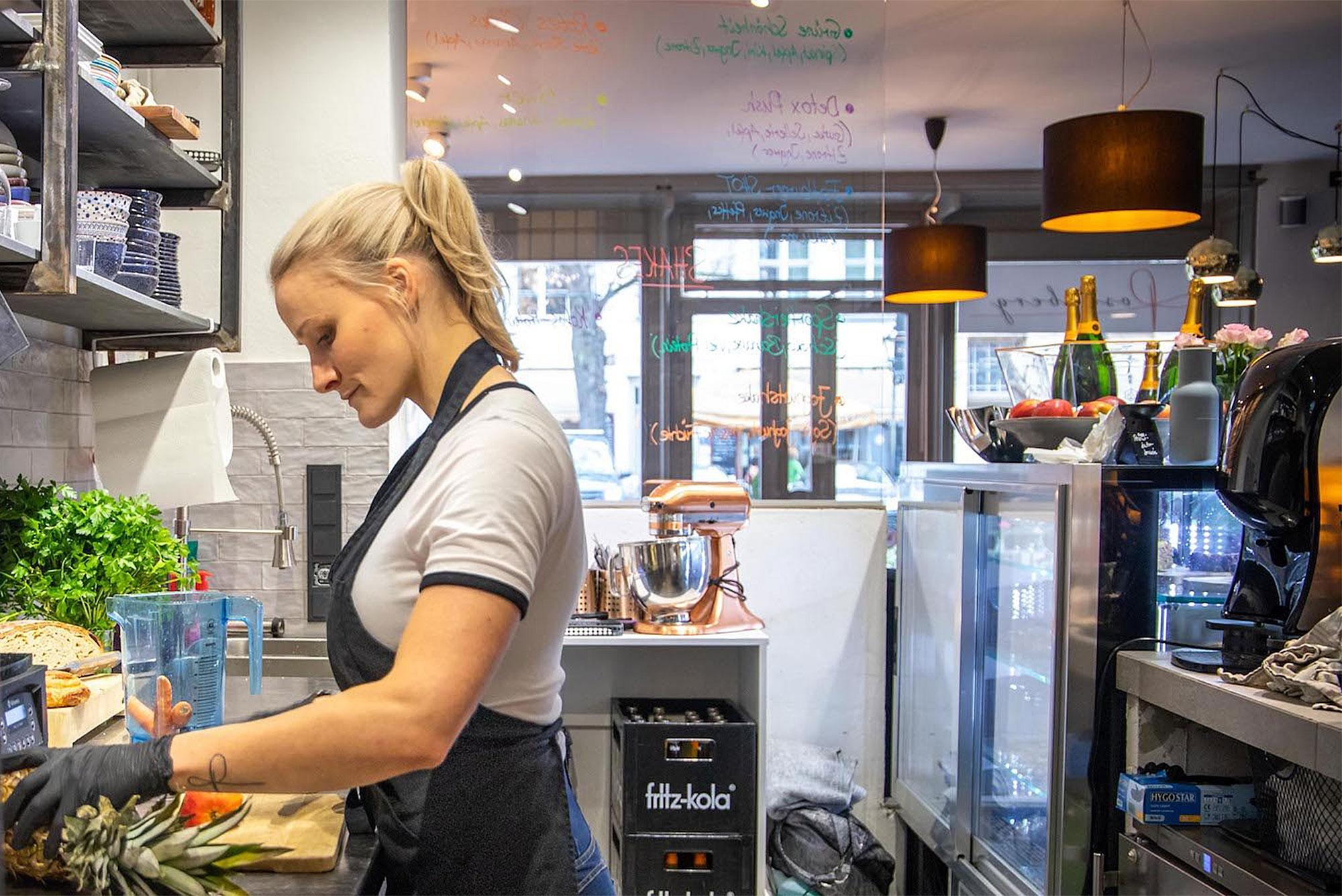 Das Café Rosenberg ist das erste vegane Café in Potsdam