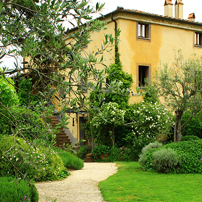 Im großen grünen Garten von San Martino