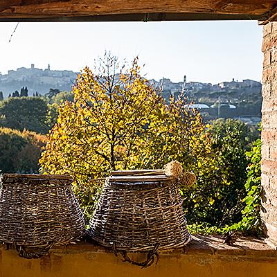 Ausblick über die schöne Toscana