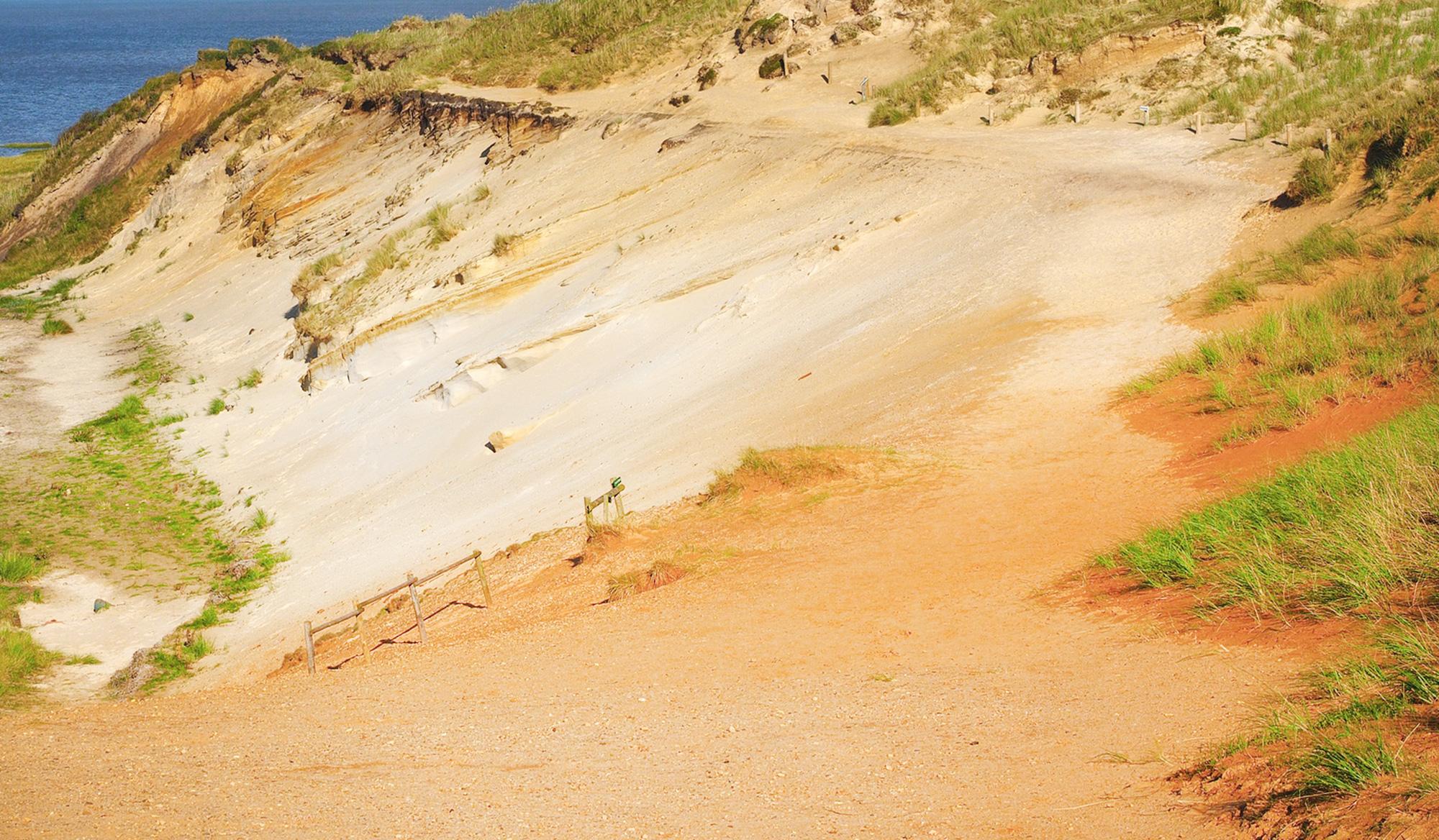 Die Kliffküste vom Morsum-Kliff wurde bereits vor 95 Jahren zum Naturschutzgebiet erklärt
