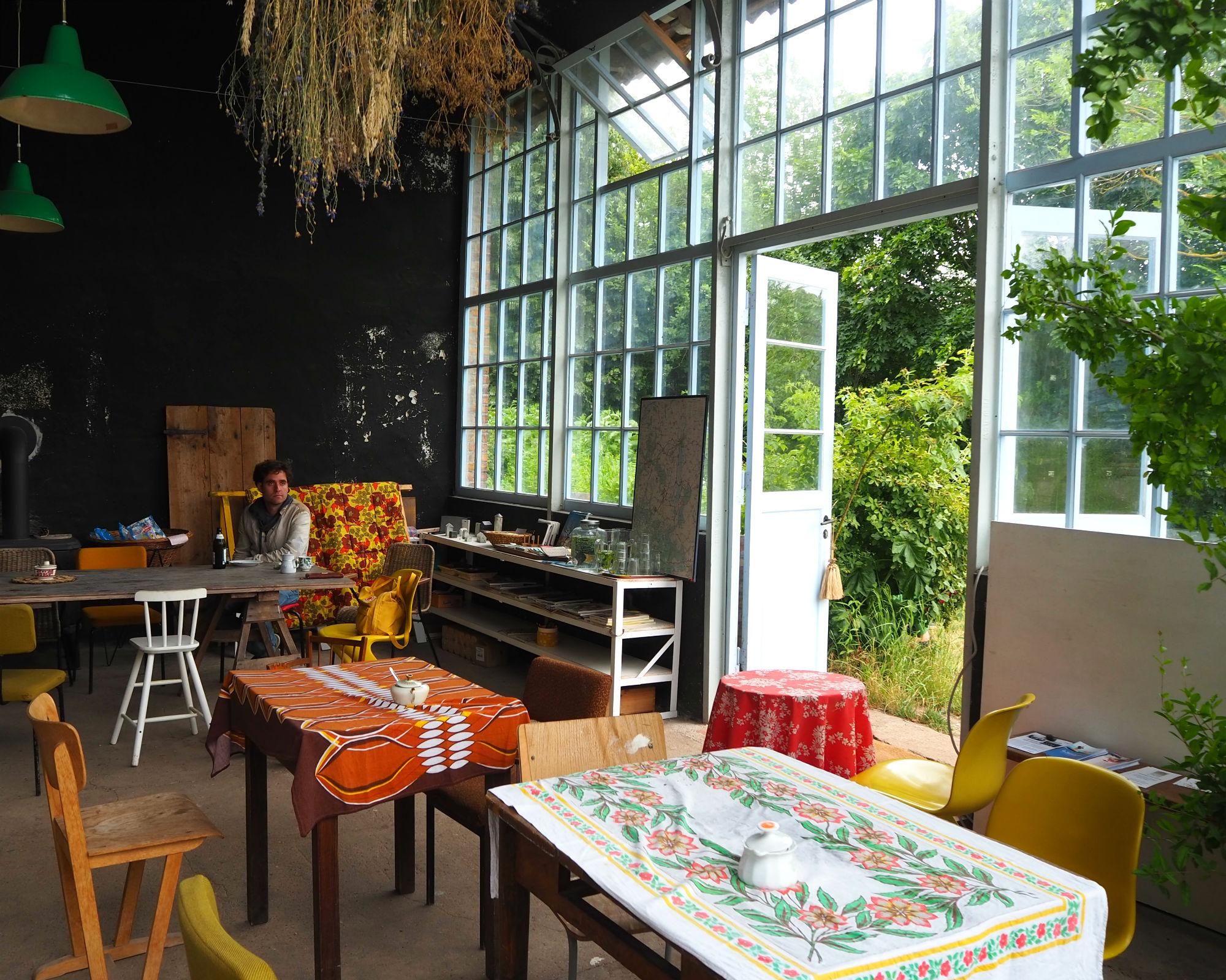 Das Café zum Löwen in Gerswalde