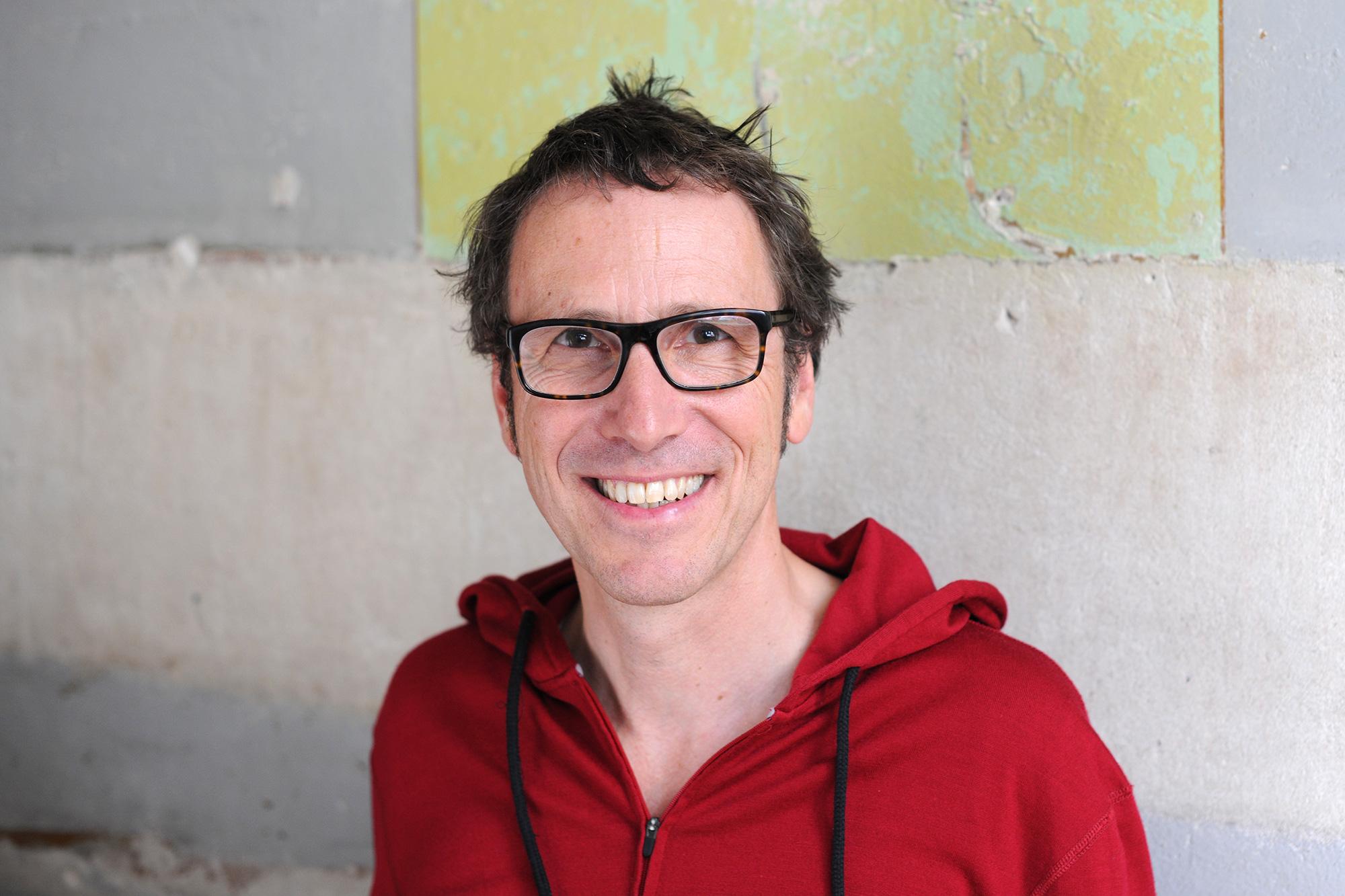 Jörg von Kruse, einer der beiden Firmeninhaber und Geschäftsführer von i+m NATURKOSMETIK BERLIN