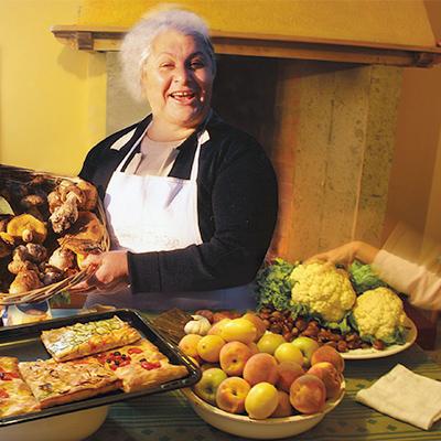 Maestra Ornella beim Kochkurs