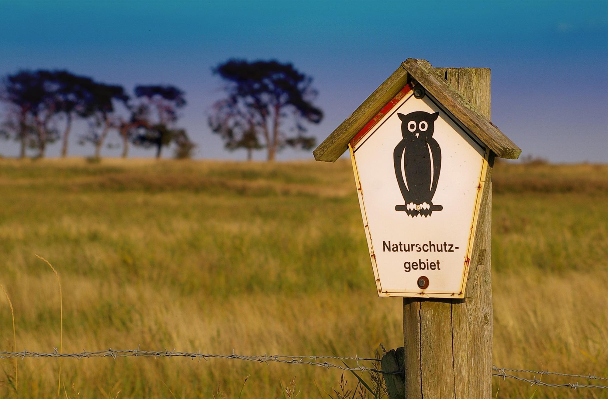 Naturschutzgebiete sind am meisten geschützt