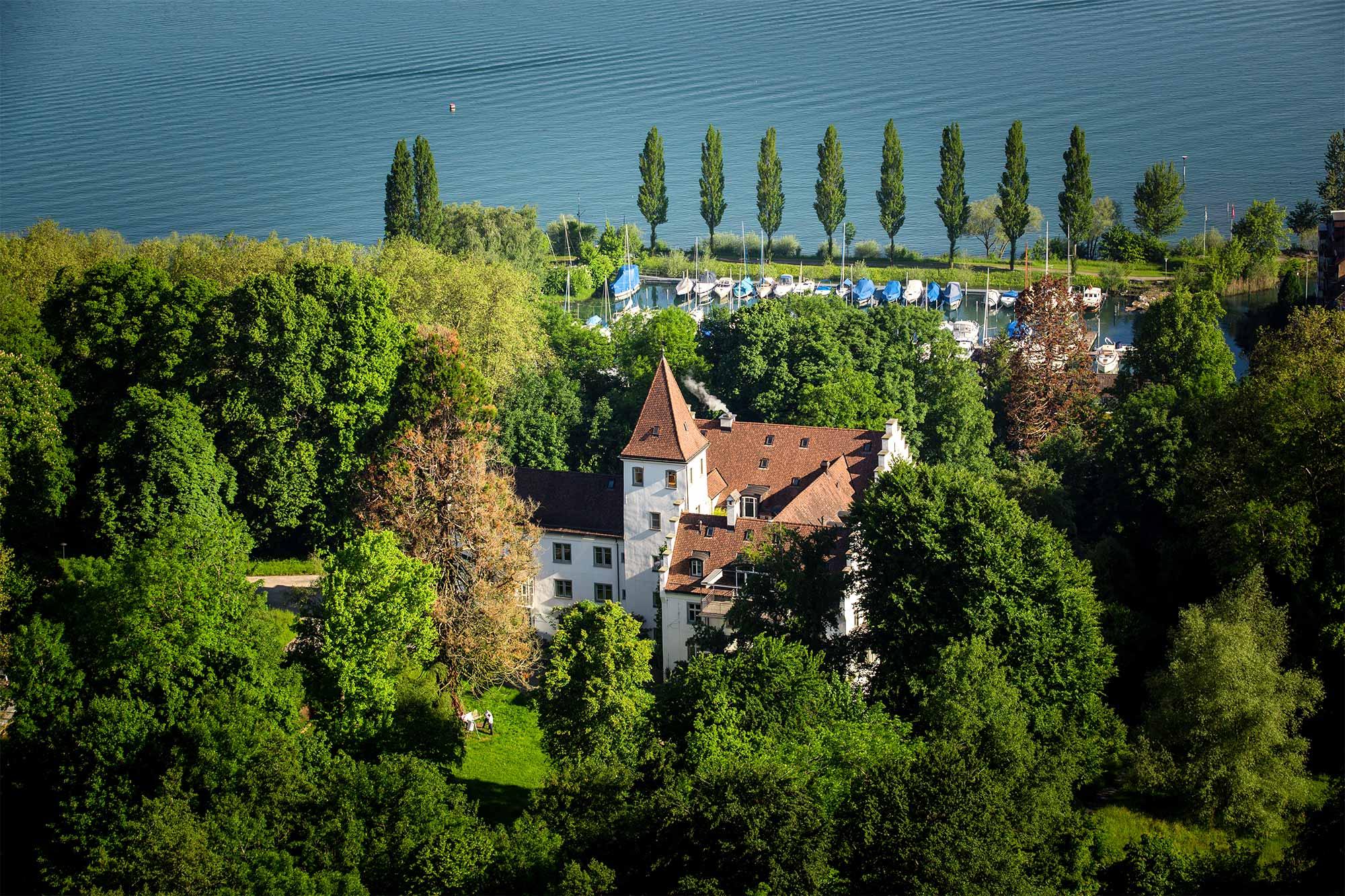 Ein inspirierender Rückzugsort zum Durchatmen - das Schloss Wartegg