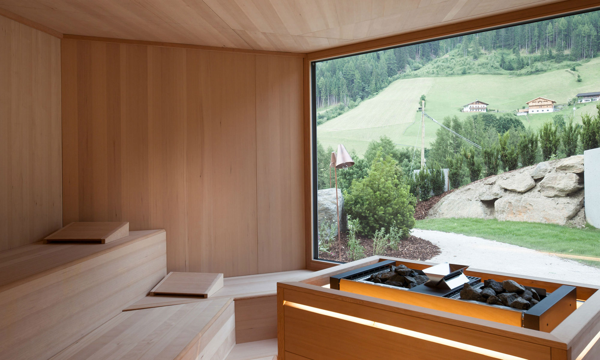 Sauna fans will be happy at the Bühelwirt