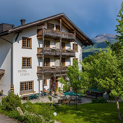 Urlaub in den Bergen im Öko-Hotel Ucliva