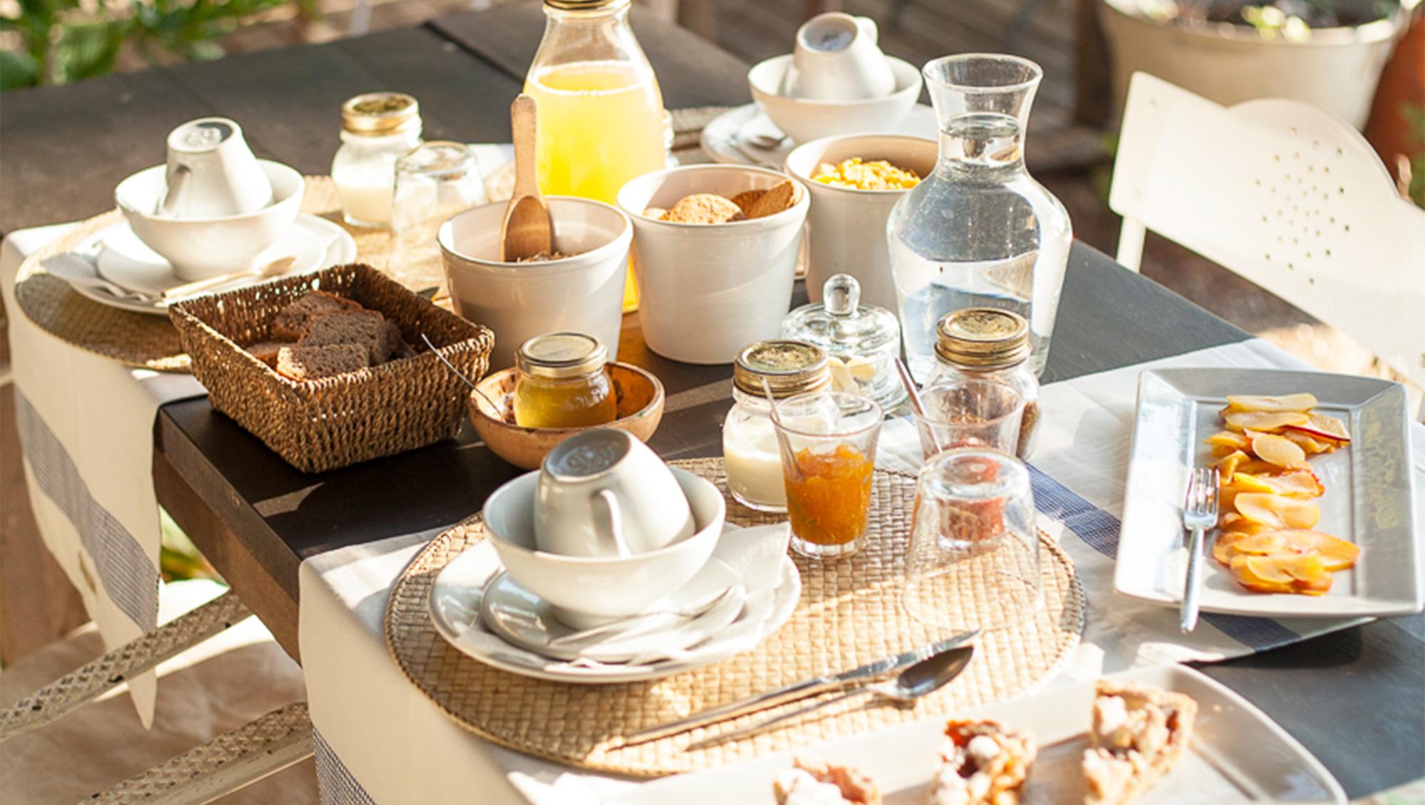Ausgiebig frühstücken bei San Martino