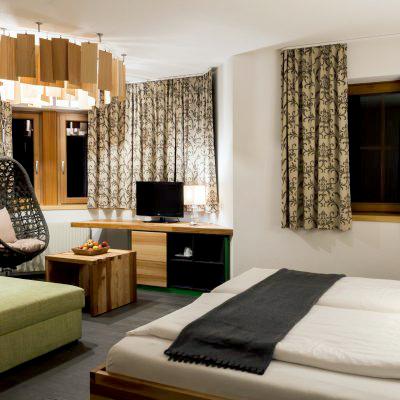 Zur Ruhe kommen in den gemütlichen Zimmern des Hotels