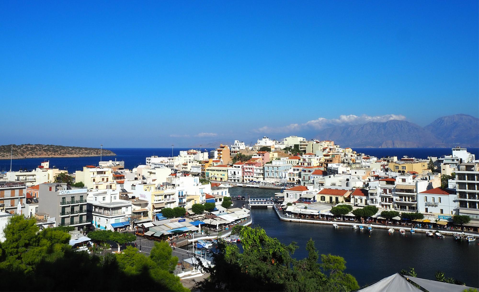 Das ehemalige Fischerdorf Agios Nikolaos