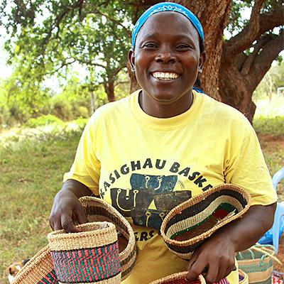 Auch Hannah Paul ist Teil von Hadithi Kenya