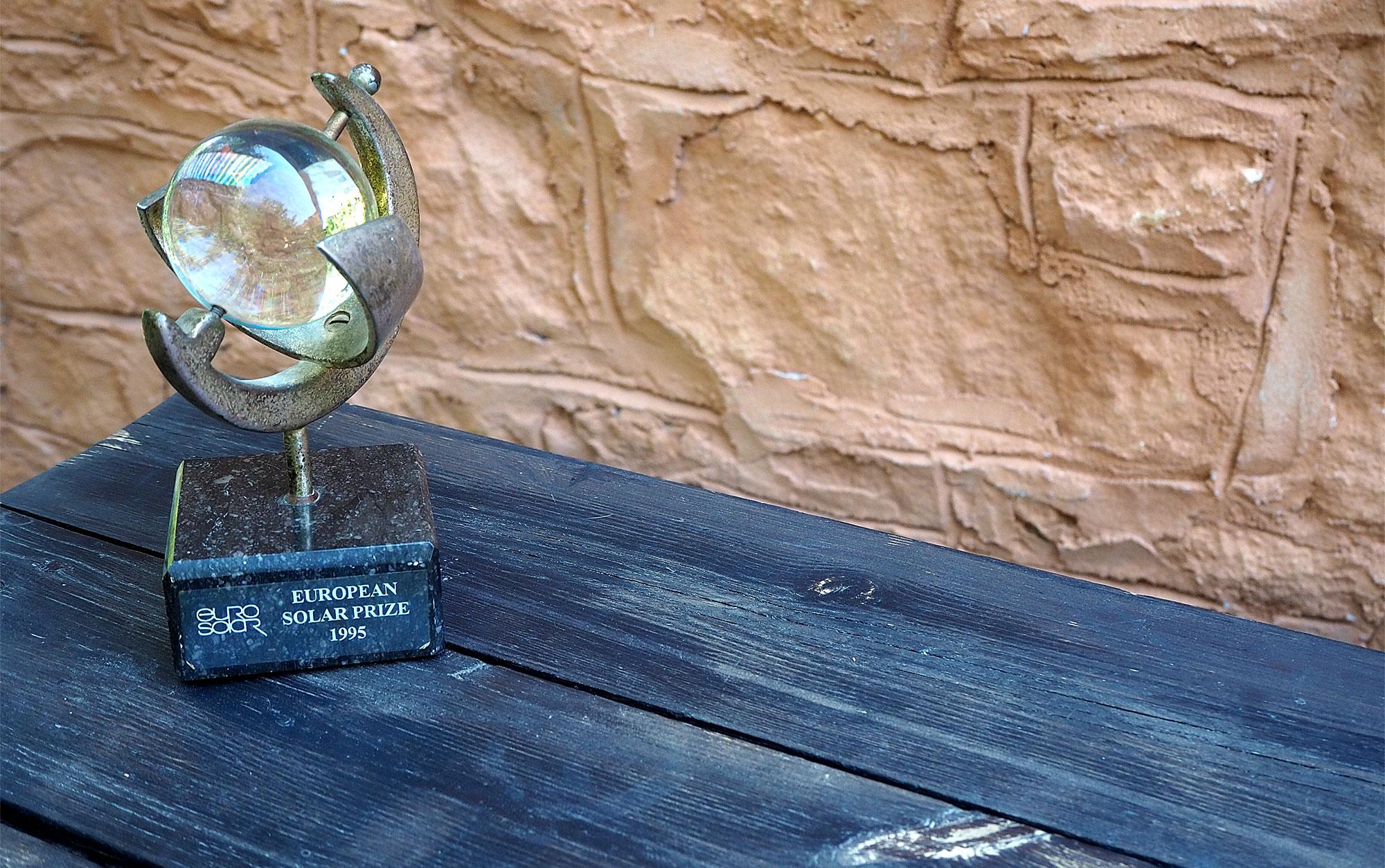 Für ihre umweltfreundliche Energienutzung gewann das Potamos einen Preis