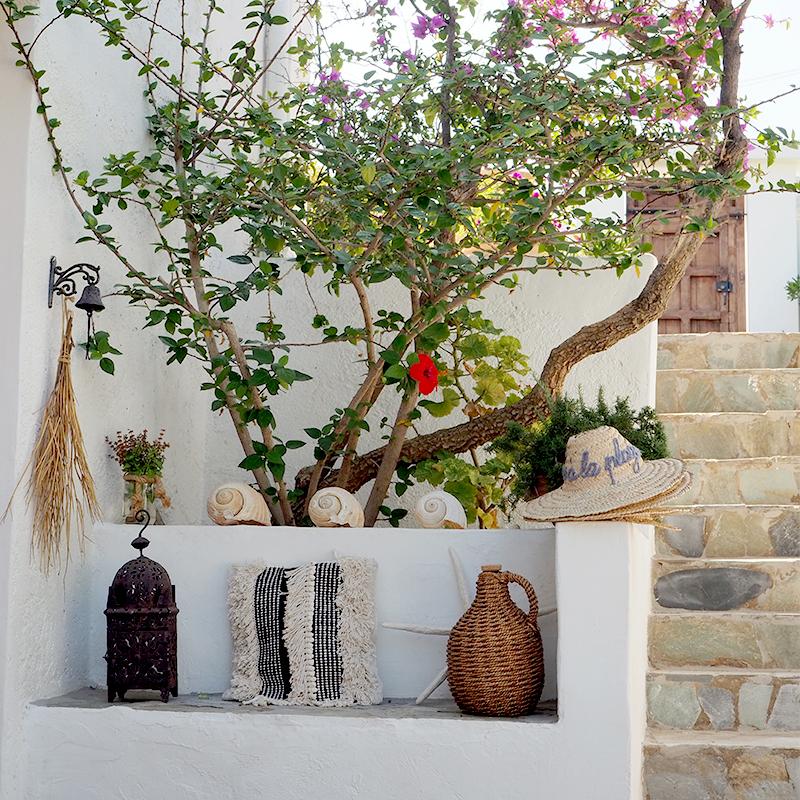 Im Garten der Villa Zoe lassen sich entspannte Stunden verbringen