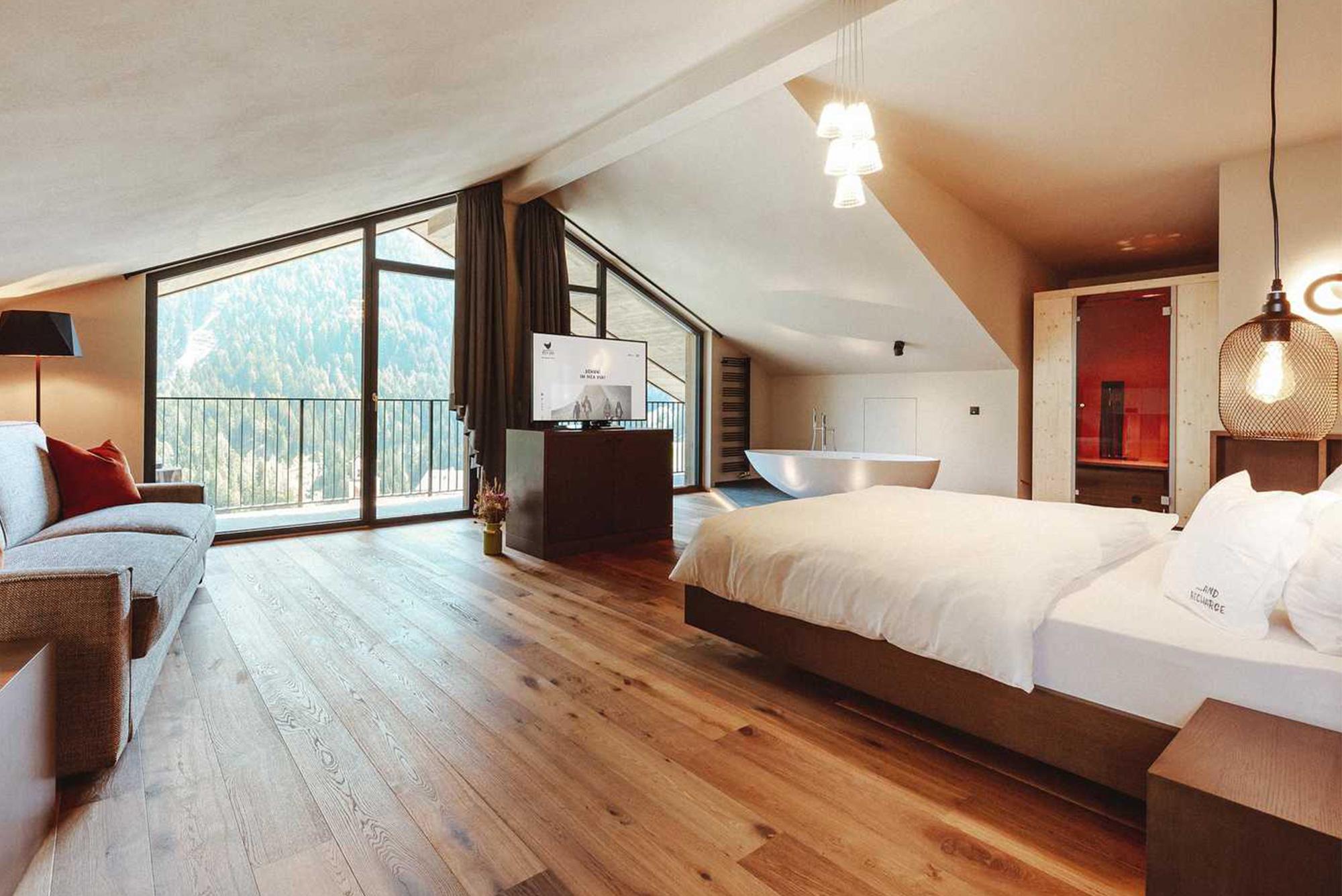 Die Rooftop Suite im Mea Via