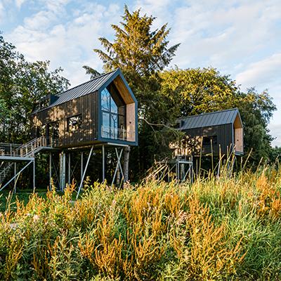 Die Lütetsburg Lodges in Ostfriesland