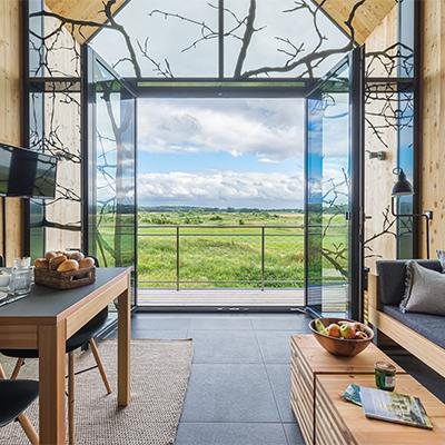 Die Baumhäuser bieten einen atemberaubenden Ausblick