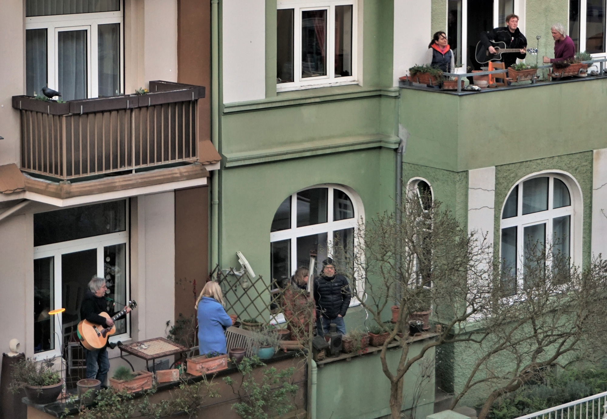 Musizieren in der Nachbarschaft