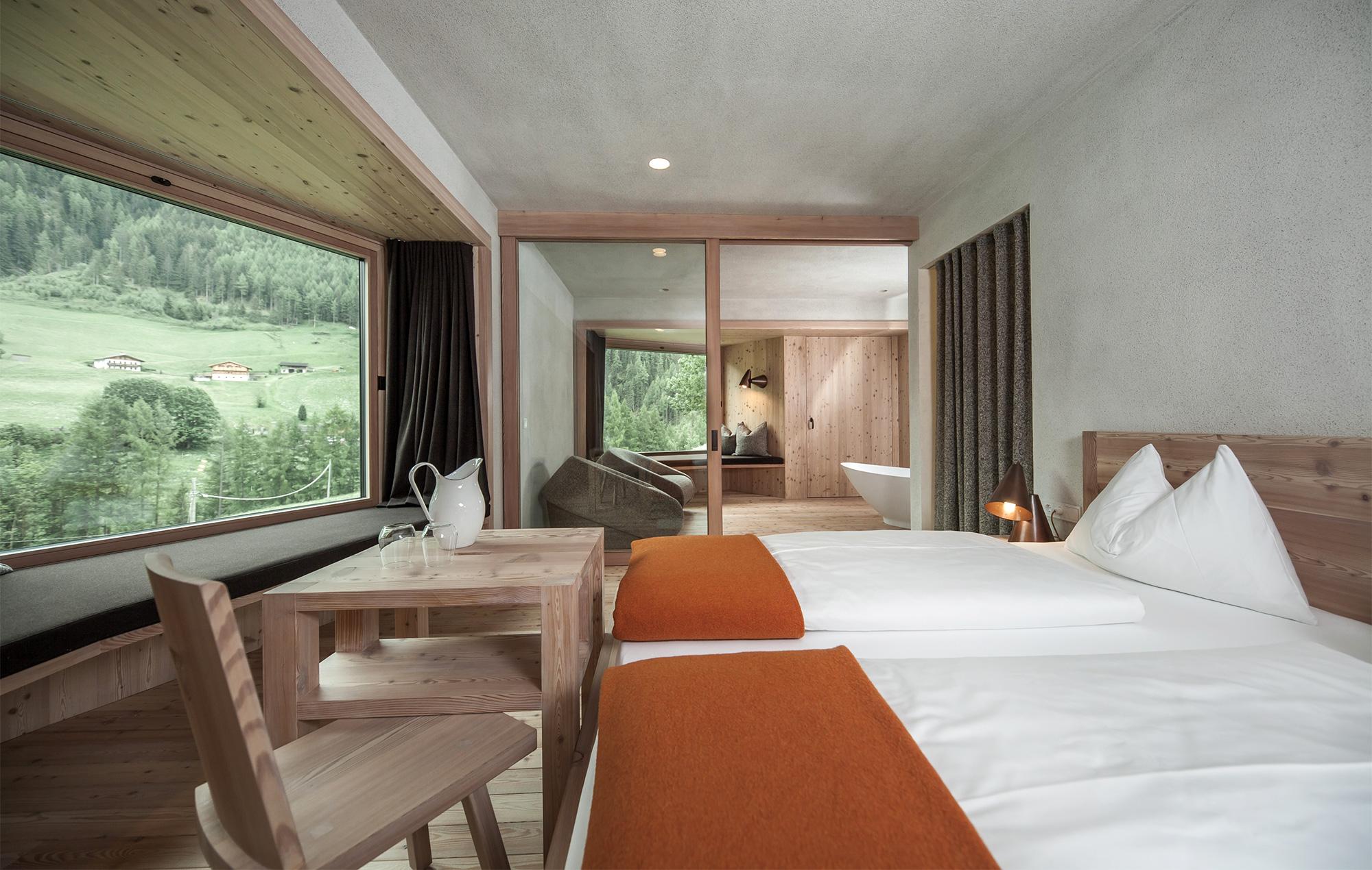 Zimmer im Bühelwirt: schlicht und geschmackvoll