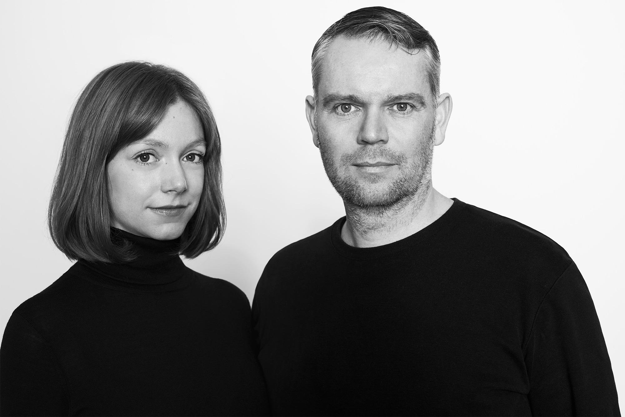Das Gründerteam von JOHANENLIES: Coco Prange und Mike Raaijmakers | Photocredits: Patrice Brylla